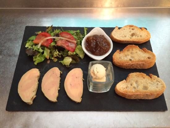 Bearn, Francia: Assiette de Foie Gras
