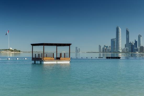 Hilton Abu Dhabi : Abu Dhabi's skyline