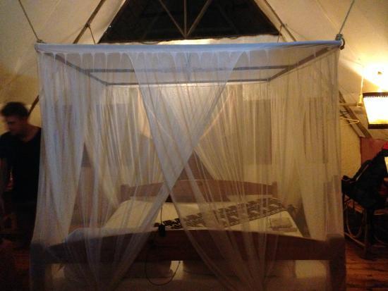 Karama Lodge & Spa : Bed & Netting