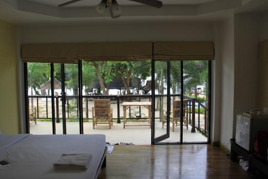 Siam Beach Resort: вид из номера