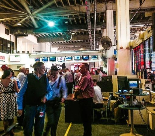Gold Coast Turf Club: the members area.. the bear pit!