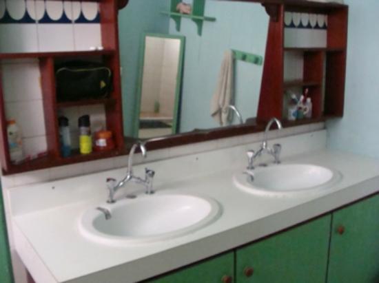 Pension Te Miti: sanitaire/bathroom