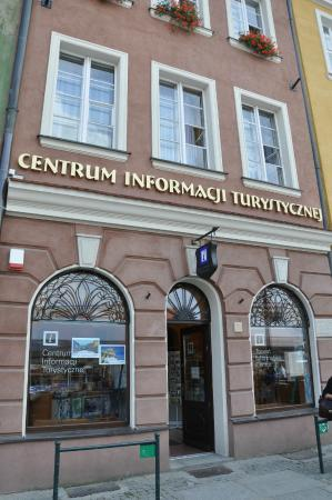 Tourist Information - Old Market Square