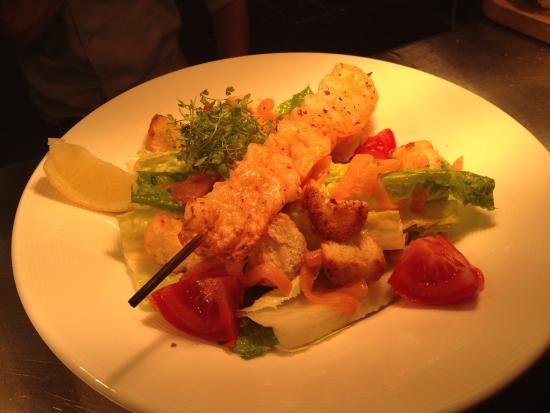 Lazenby's on York Place: Lunch prawn caesar salad