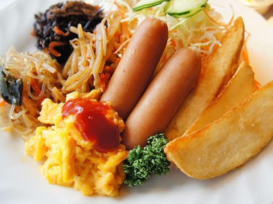 Hotel Abest Meguro : 朝食①