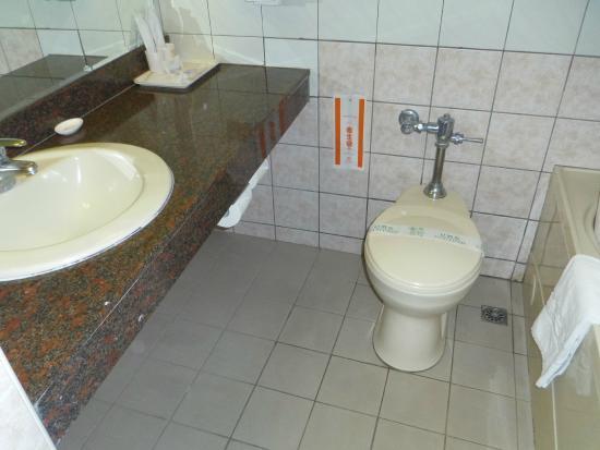 Marshal Hotel : 清潔な洗面所