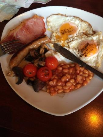 The Royal Hotel - Latinos: Part of the excellent breakfast. I did manage to load it!