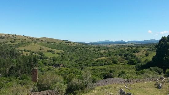 Mina La Oriental, Parque Geominero: Vista da paisagem
