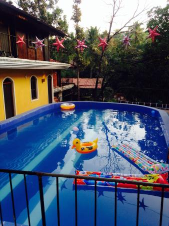 Castle House Palolem South Goa : Hotel pool