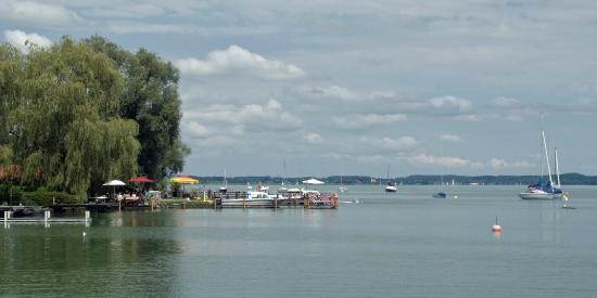 Bavaria, Germany: Lakeside lido