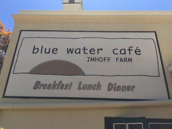 Blue Water Cafe: The spot