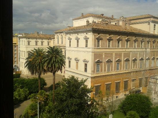 Nuovo Hotel Quattro Fontane: Vista desde el hotel