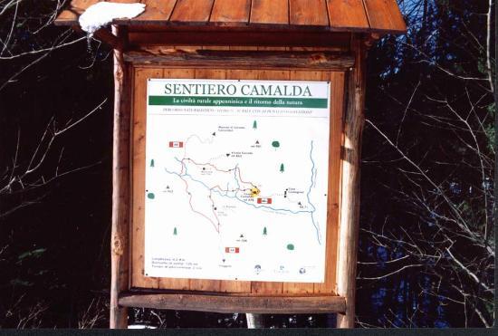 Casale Camalda - Organic Farm: Sentiero Camalda