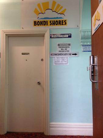 Bondi Shores : lobby