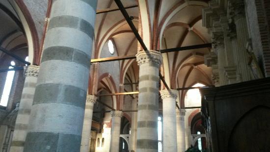Chiesa di San Lorenzo: Il soffitto