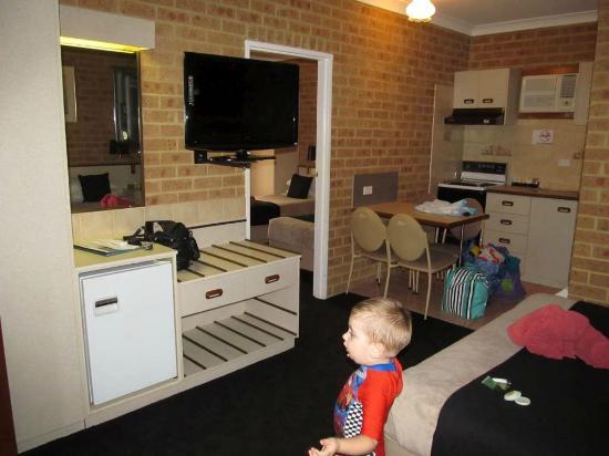 Elsinor Motor Lodge: Kitchen area