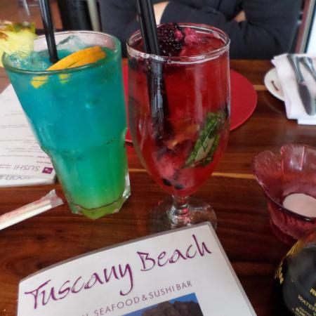 TUSCANY BEACH RESTAURANT: awesome cocktails