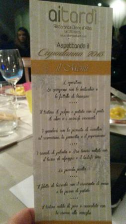 Albergo Ristorante Ai Tardi: Tutto ottimo... capodanno 2015