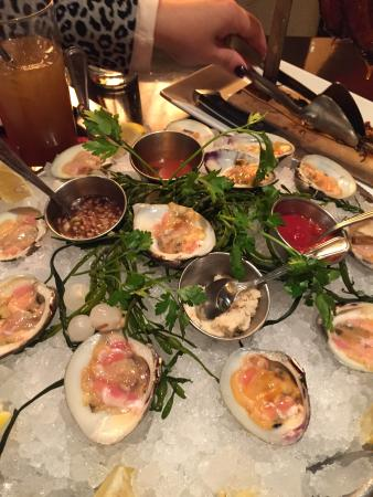 David Burke Prime: Clams on the Half Shell