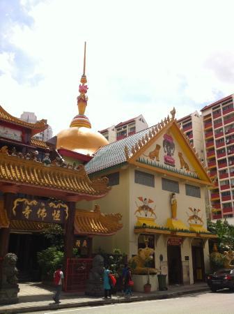 Temple of 1,000 Lights (Sakya Muni Buddha Gaya) : Sakya Muni Buddha Gaya Temple