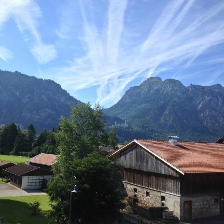 Landgasthof Zur Post : Vista dalla camera!