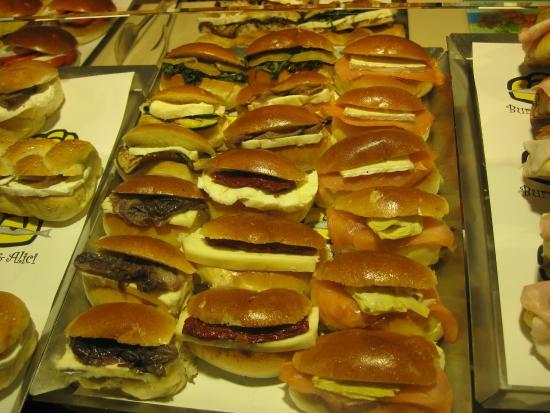 Burro e Alici : Mini panini di tutti i tipi