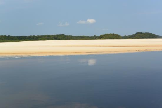 Pousada Manaus: Anavilhanas Archipel Sandstrand