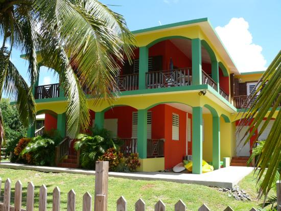Ababor Suites: Colorful buildings