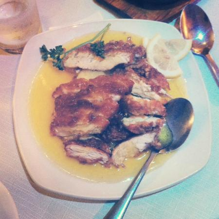 East: The Lemon Chicken. Keen-eyed readers will note how much I enjoyed this dish.