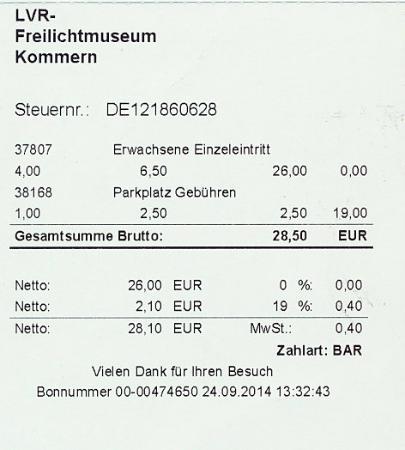LVR-Freilichtmuseum Kommern: Niet duur.....
