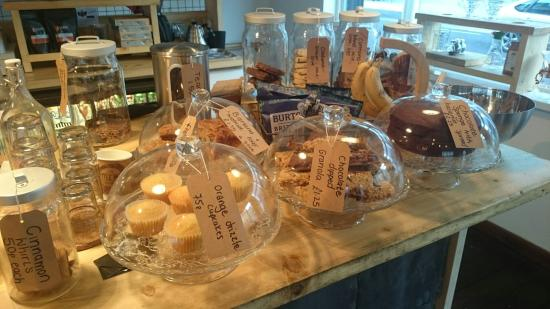 The Little Man Coffee Company: immense cake selection!