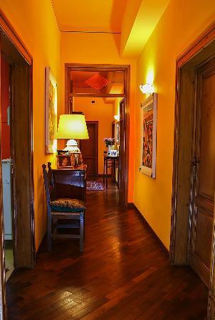 B&B La Casa dell'Artista: il corridoio