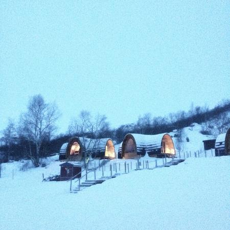 Kirkenes snowhotel january 2015 picture of kirkenes for Kirkenes snow hotel gamme cabins