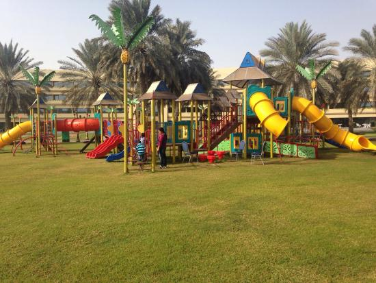 Armed Forces Officers Club U0026 Hotel: Kids Outdoor Play Area