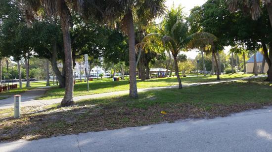 Riverwalk: Shepards Park, SW end of River Walk