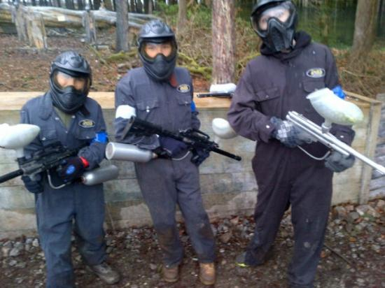 Delta Force Paintball Plymouth: Ready for action!!