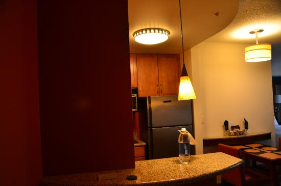 Residence Inn East Rutherford Meadowlands : coin repas