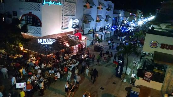 Hotel El Punto: New Year's Eve festivities as seen from our balcony!