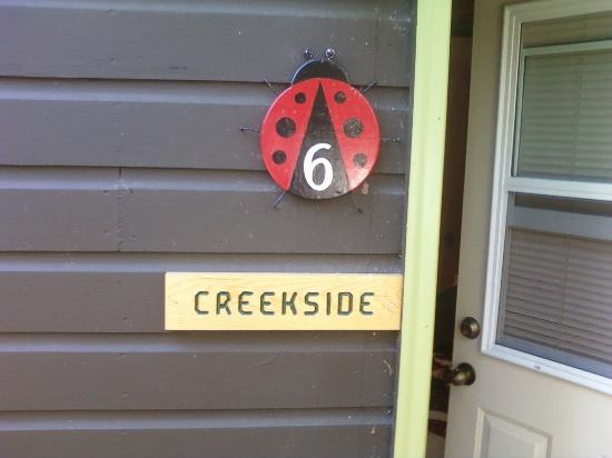 Lady Bug Lodge : Our cabin