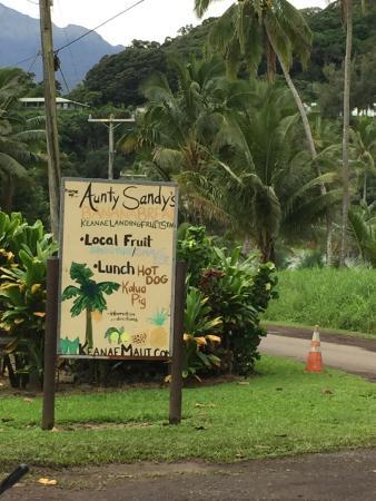 Aunty Sandy's place