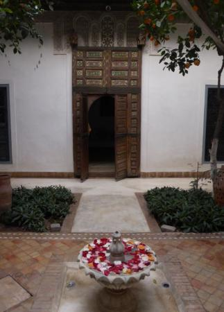 Dar Tchaikana: the patio