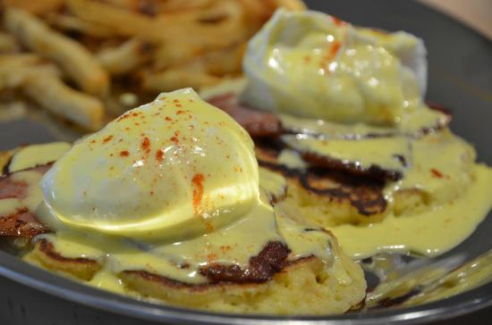 TheSmoke: Eggs Benny on our Smoked Back Bacon