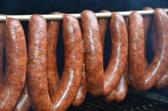 TheSmoke: Hot Smoked Sausages