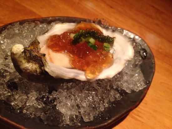 Aston Dining Room And Bar Oyster With Ponzu Jelly