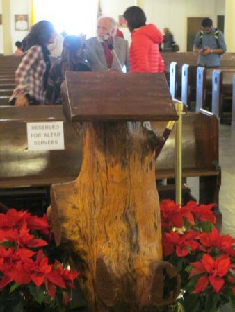 St. Augustine Church: Lectern