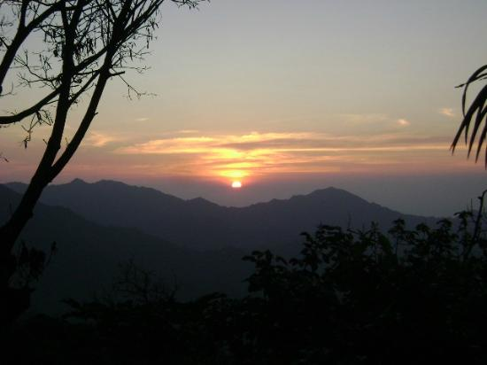 Sierra Nevada de Santa Marta : Sunset view from La Candalaria