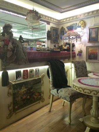 Romantic Mansion : Кофе на первом этаже