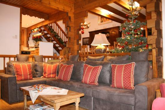 Chalet Calluna: Super comfortable couch.