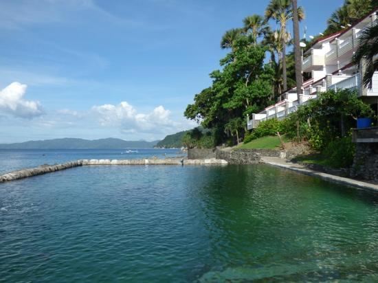 eagle point resort salzwasser pool mit haichen picture. Black Bedroom Furniture Sets. Home Design Ideas