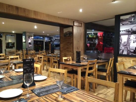 Inside Dolce Cafe and Pizzera - Wooburn Green